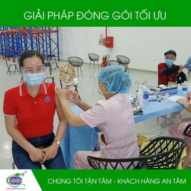 Bao bì Hoàng Long tiêm Vắc xin COVID-19