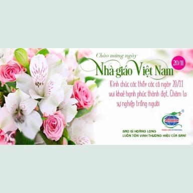 Tri ân thầy cô nhân ngày nhà giáo Việt Nam 20/ 11