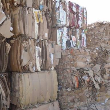 Giá giấy cũ, bìa carton tái chế tại châu Âu tăng cao kỷ lục